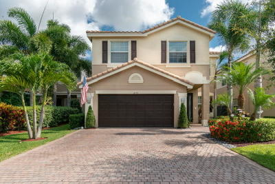 Boynton Beach Single Family Home For Sale: 8179 Ravenna Lakes Drive