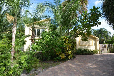 Boca Raton Single Family Home Contingent: 899 Periwinkle Street
