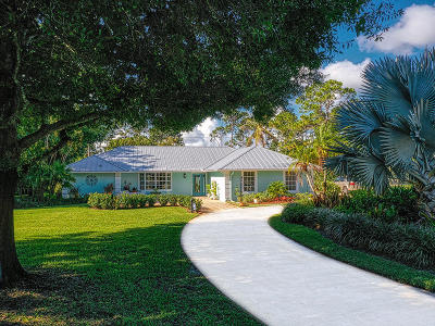 Martin County Single Family Home For Sale: 4766 SW Bimini Circle S