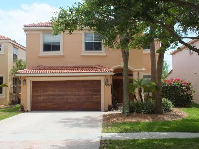 Lake Worth Single Family Home For Sale: 7750 Oak Grove Circle