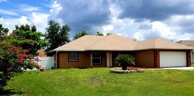Single Family Home For Sale: 5877 NW Hann Drive