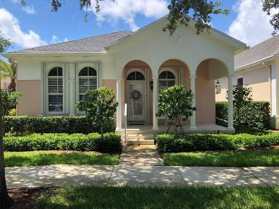 Jupiter Single Family Home Contingent: 120 Marlberry Circle