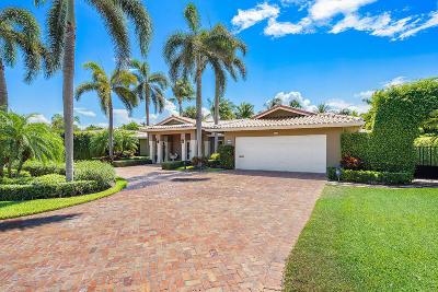 Boca Raton Single Family Home For Sale: 2001 Banyan Road