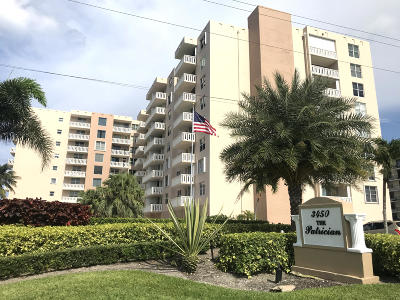 Palm Beach Condo For Sale: 3450 S Ocean Boulevard #623