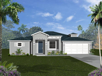 Port Saint Lucie Single Family Home For Sale: 178 NE Dominican Terrace