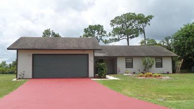 Port Saint Lucie Single Family Home For Sale: 2402 SE Summit Street