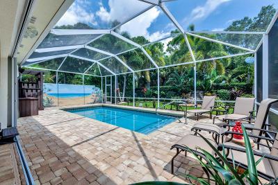 Palm Beach Gardens Single Family Home Pending: 146 Lost Bridge Drive