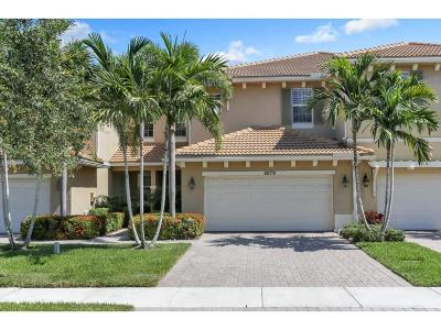Palm Beach Gardens Townhouse For Sale: 5079 Dulce Court