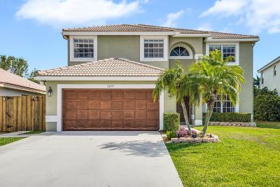 Boynton Beach Single Family Home For Sale: 3691 Potomac Place
