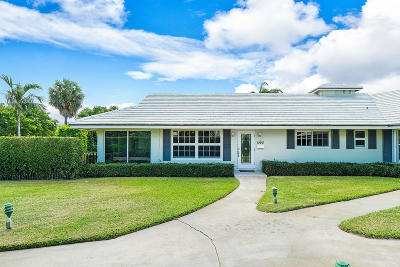 Delray Beach Single Family Home For Sale: 1009 Langer Way