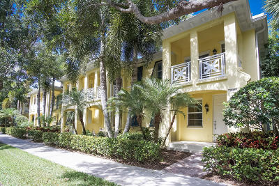 Jupiter Townhouse For Sale: 3041 E Community Drive