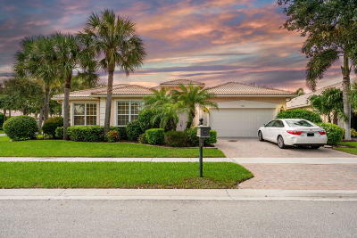 Boynton Beach Single Family Home For Sale: 7591 Monticello Way