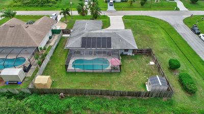Port Saint Lucie Single Family Home For Sale: 1182 SW Heather Street