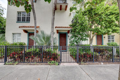 Delray Beach Townhouse For Sale: 1655 Federal Highway