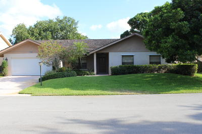 Palm Beach Gardens Single Family Home For Sale: 1045 Shady Lakes Circle