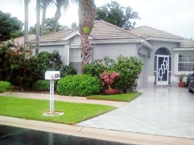 Boynton Beach Single Family Home For Sale: 6006 Bay Isles Drive