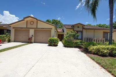 Boca Raton Single Family Home For Sale: 8029 Whispering Palm Drive