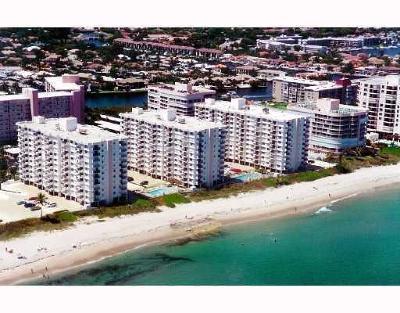 Highland Beach Rental For Rent: 3221 S Ocean Boulevard #405