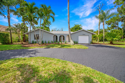 Delray Beach Single Family Home Contingent: 5084 Oak Hill Road