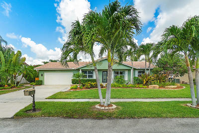 Boca Raton Single Family Home For Sale: 3333 NW 25th Terrace