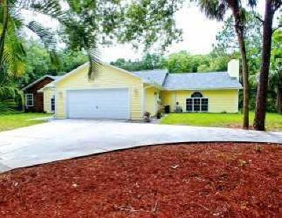 Single Family Home For Sale: 4754 61st Circle