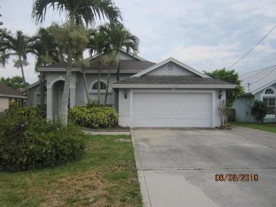 Jupiter Single Family Home For Sale: 6120 Mullin Street