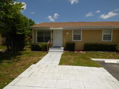 West Palm Beach Single Family Home For Sale: 4669 Martha Louise Drive
