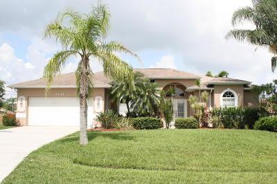 Port Saint Lucie Single Family Home For Sale: 3334 SW Mundy Street