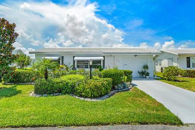 Leisureville, Palm Beach Leisureville Single Family Home Pending: 2109 SW 15th Street