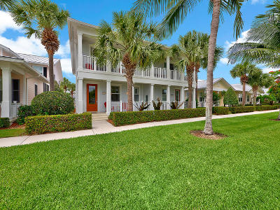 Jupiter Townhouse For Sale: 1383 Ramsey Way