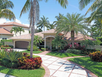 Delray Beach Single Family Home For Sale: 945 Tropic Boulevard