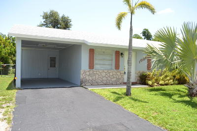 North Palm Beach, Jupiter, Palm Beach Gardens, Port Saint Lucie, Stuart, West Palm Beach, Juno Beach, Lake Park, Tequesta, Royal Palm Beach, Wellington, Loxahatchee, Hobe Sound, Boynton Beach Single Family Home Sold: 1009 Mohican Boulevard