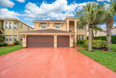 Royal Palm Beach Single Family Home For Sale: 2243 Ridgewood Circle