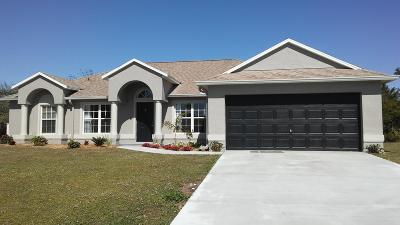Port Saint Lucie Single Family Home For Sale: 531 SW Dailey Avenue