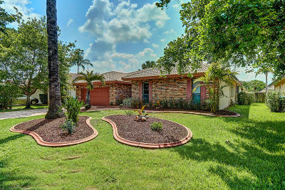 Coral Springs Single Family Home Contingent: 4307 NW 71st Drive