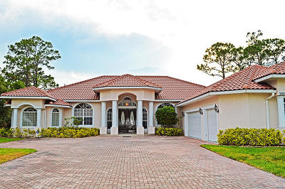 St Lucie County Single Family Home For Sale: 2807 Bent Pine Drive