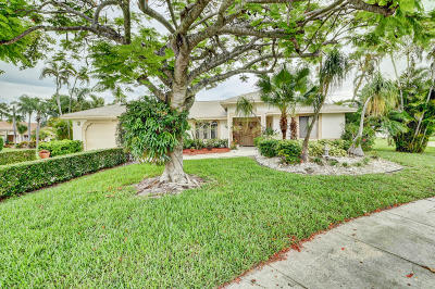 Delray Beach Single Family Home For Sale: 2600 Riviera Drive