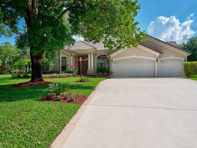 Lake Worth Single Family Home For Sale: 4280 Hunting Trail