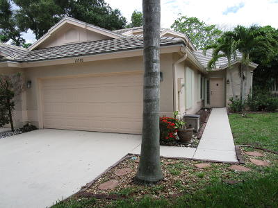 Boynton Beach Single Family Home For Sale: 10968 Stafford Circle S