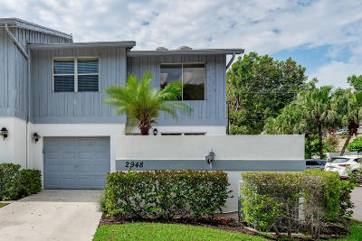Delray Beach Townhouse For Sale: 2948 Florida Boulevard