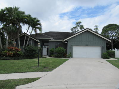 Palm Beach Gardens Single Family Home For Sale: 5590 Cypress Tree Court