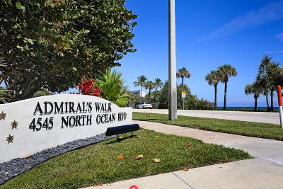 Boca Raton Condo For Sale: 4545 Ocean Boulevard #5d