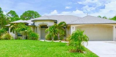 Single Family Home For Sale: 3881 SW Janiga Street