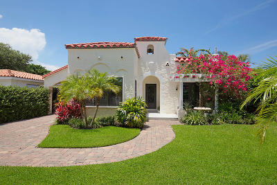 West Palm Beach Single Family Home For Sale: 213 Seville Road
