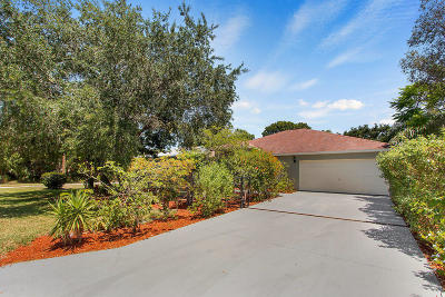 Fort Pierce Single Family Home For Sale: 7802 Lockwood Drive