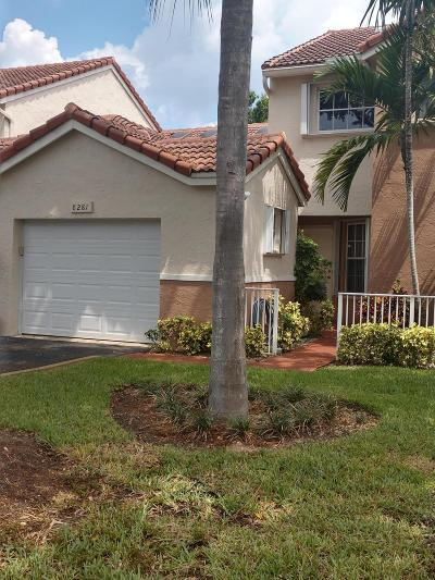 Tamarac Townhouse For Sale: 8281 NW 70th Street