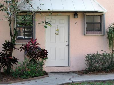 Tequesta Townhouse For Sale: 406 Cypress Drive #2