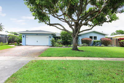 Plantation Single Family Home For Sale: 440 SW 55th Terrace