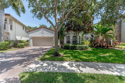 Palm Beach Gardens Single Family Home For Sale: 734 Bocce Court