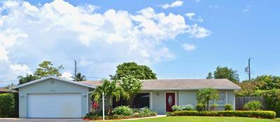 Boynton Beach Single Family Home For Sale: 715 SW 27th Way